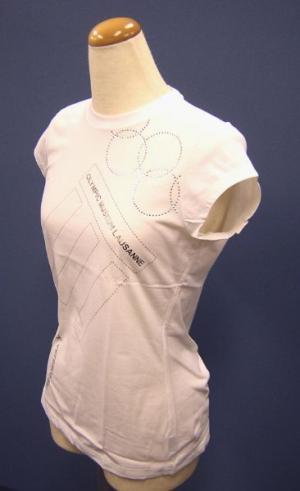 No.3 Tシャツ レディス  スポーツ   (ホワイト)