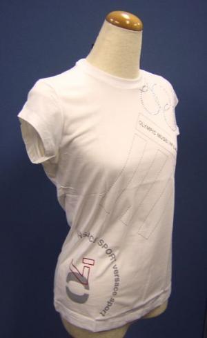No.4 Tシャツ レディス  スポーツ   (ホワイト)