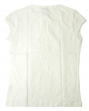 No.2 Tシャツ レディス  スポーツ  (ホワイト) Lサイズ