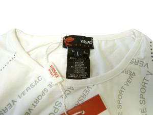 No.4 Tシャツ レディス  スポーツ  (ホワイト) Lサイズ