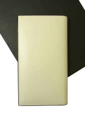 ヴァレクストラ 長財布 二つ折 (ホワイト)