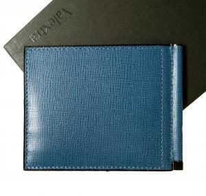 39051fb20784 ヴァレクストラ ] マネークリップ カードケース (コバルトブルー) - VX-146