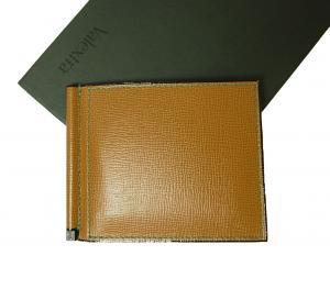 a004fa65461a ヴァレクストラ ] マネークリップ 財布 カードケース(キャメル) - VX-84