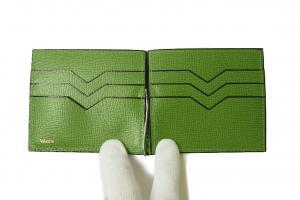No.5 マネークリップ 財布 カードケース(グラスグリーン)