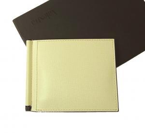 ヴァレクストラ マネークリップ 財布 カードケース (オフホワイト)