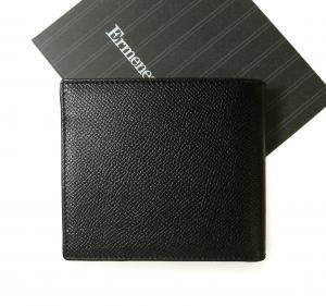 No.2 財布 メンズ 二つ折り グレインレザー (ブラック)