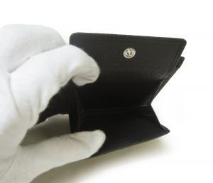 No.6 財布 メンズ 二つ折り ソフト グレイン レザー (牛革) (ネイビー)